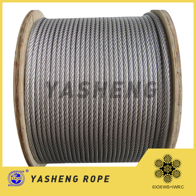 6×36 Stainless Steel Wire Rope